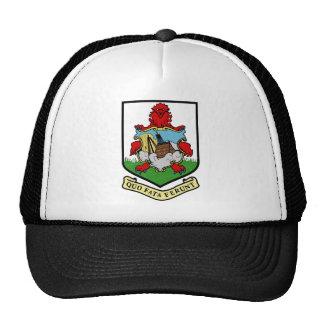 bermuda emblem trucker hats