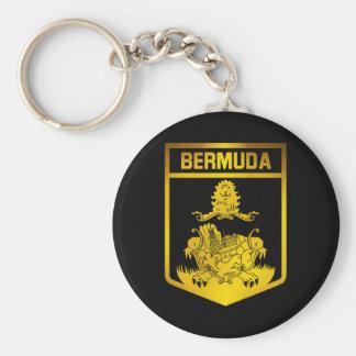 Bermuda Emblem Key Ring