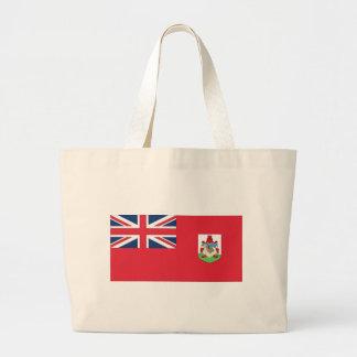 Bermuda Flag Large Tote Bag