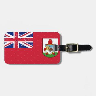Bermuda Flag Luggage Tag