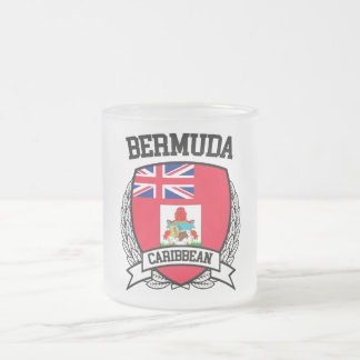 Bermuda Frosted Glass Coffee Mug