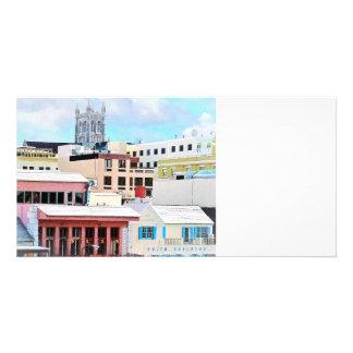 Bermuda - Hamilton Skyline Photo Greeting Card