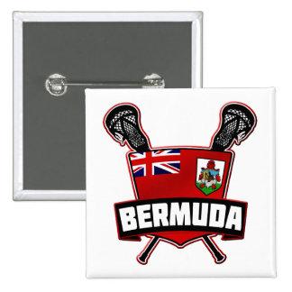 Bermuda Lacrosse Logo Buttons