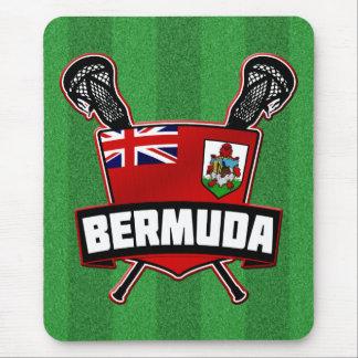 Bermuda Lacrosse Logo Mouse Pad