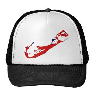 Bermuda map BM Mesh Hats
