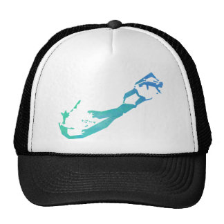 Bermuda Map Cap