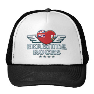 Bermuda Rocks v2 Trucker Hats
