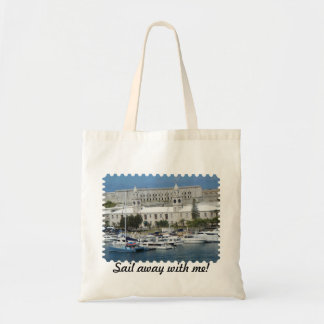 Bermuda sail away with me tote