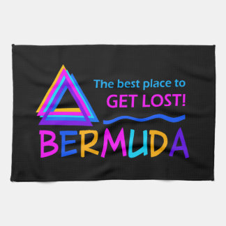 Bermuda Triangle custom kitchen towels
