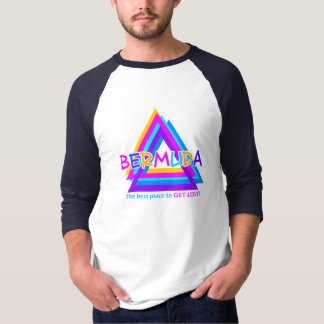 BERMUDA TRIANGLE shirt, double-sided T-Shirt