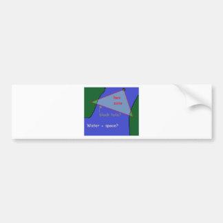 Bermuda triangle: the theory bumper sticker