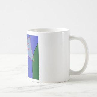 Bermuda triangle: the theory coffee mug