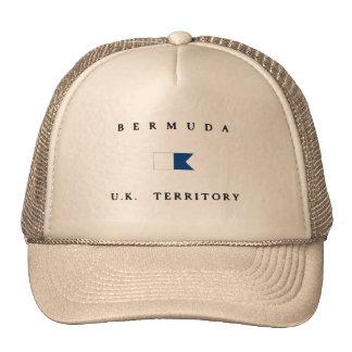 Bermuda UK Territory Alpha Dive Flag Cap