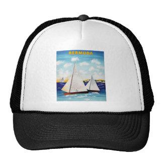 Bermuda Vintage T-Shirts Mesh Hat