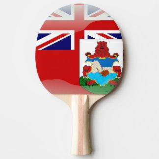 Bermudian glossy flag ping pong paddle