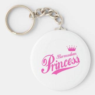 Bermudian Princess Key Ring