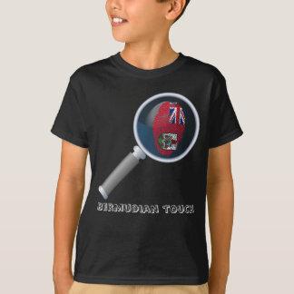 Bermudian touch fingerprint flag T-Shirt