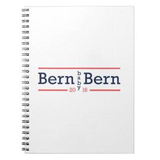 Bern Baby Bern Spiral Note Books