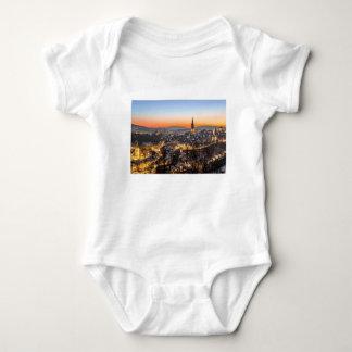 bern city view Christmas time Baby Bodysuit
