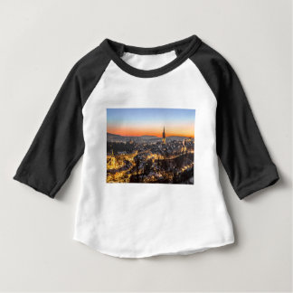 bern city view Christmas time Baby T-Shirt