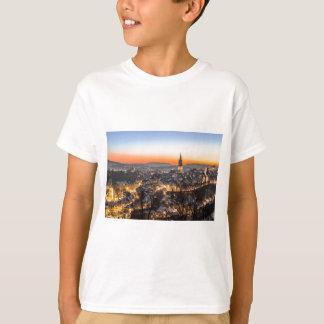 bern city view Christmas time T-Shirt