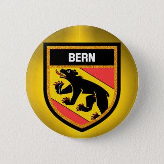 Bern Flag 6 Cm Round Badge