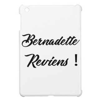 Bernadette return iPad mini case