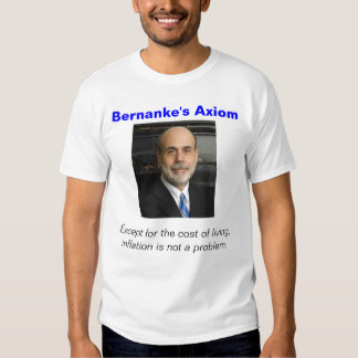 Bernanke's Axiom Shirt