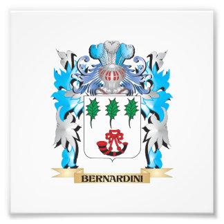 Bernardini Coat of Arms Photo Art