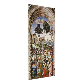 Bernardino di Betto - Eleanor of Portugal Canvas Print