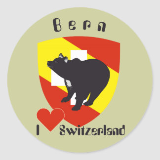 Berne Berne Berna Bärn Switzerland Suisse sticker