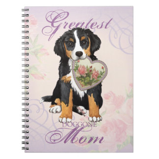 Berner Heart Mom Note Book
