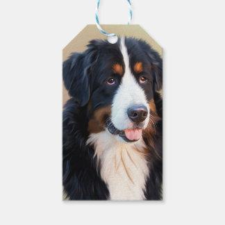 Berner Sennenhund Gift Tags
