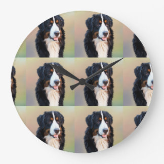 Berner Sennenhund Large Clock