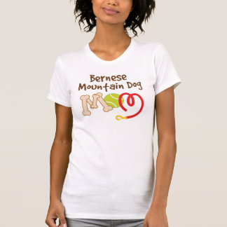 Bernese Mountain Dog Breed Mom Gift T-Shirt