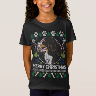 Bernese Mountain Dog Breed Ugly Christmas Sweater