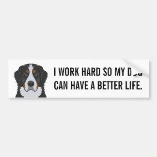 Bernese Mountain Dog Bumper Sticker