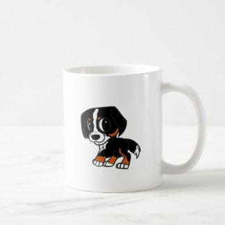 bernese mountain dog cartoon rust coffee mug