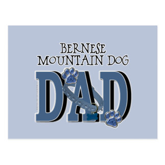 Bernese Mountain Dog DAD Postcard