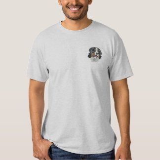 Bernese Mountain Dog Embroidered T-Shirt