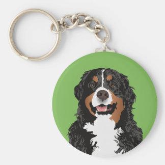 BERNESE MOUNTAIN DOG FOR BERNESE MOUNTAIN PARENT KEY RING