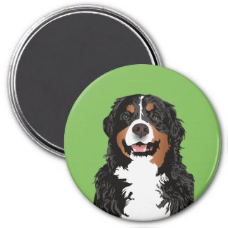 BERNESE MOUNTAIN DOG FOR BERNESE MOUNTAIN PARENT MAGNET