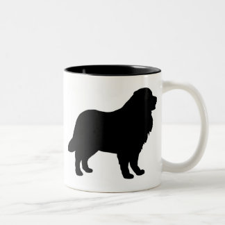 Bernese Mountain Dog Gear Two-Tone Coffee Mug