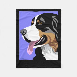 Bernese Mountain Dog Gifts Fleece Blanket