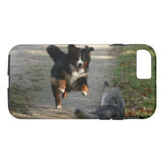 Bernese Mountain Dog Husky Reunion Phone Case