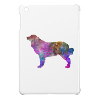 Bernese mountain dog in watercolor 2 case for the iPad mini