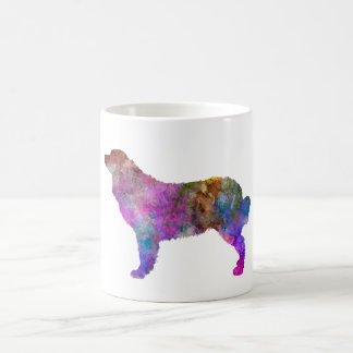 Bernese mountain dog in watercolor 2 coffee mug