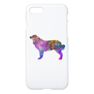 Bernese mountain dog in watercolor 2 iPhone 8/7 case
