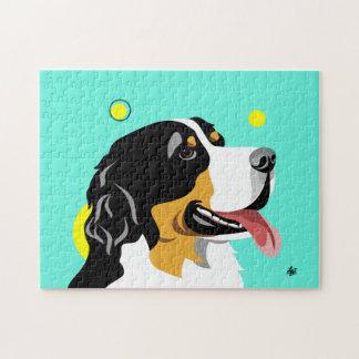 Bernese Mountain Dog Jigsaw Puzzles