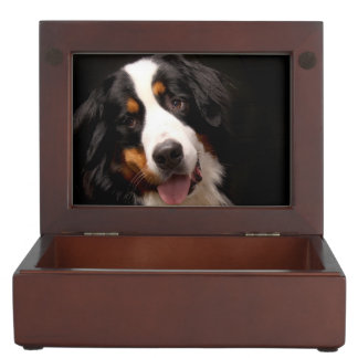 Bernese Mountain Dog Keepsake Box